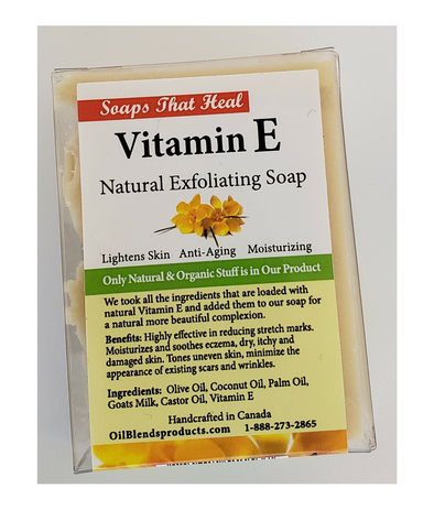 Vitamin E  Natural Exfoliating Soap