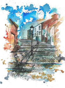 Crowther Street Art Print