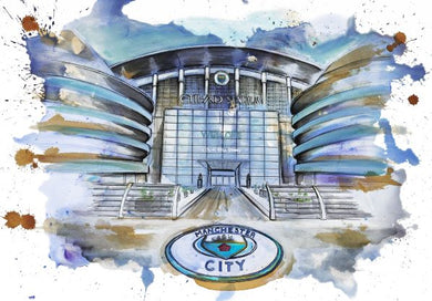 The Ethiad Stadium, Manchester