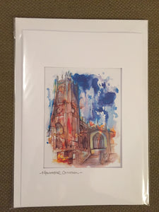 Manchester Cathedral Greetings card