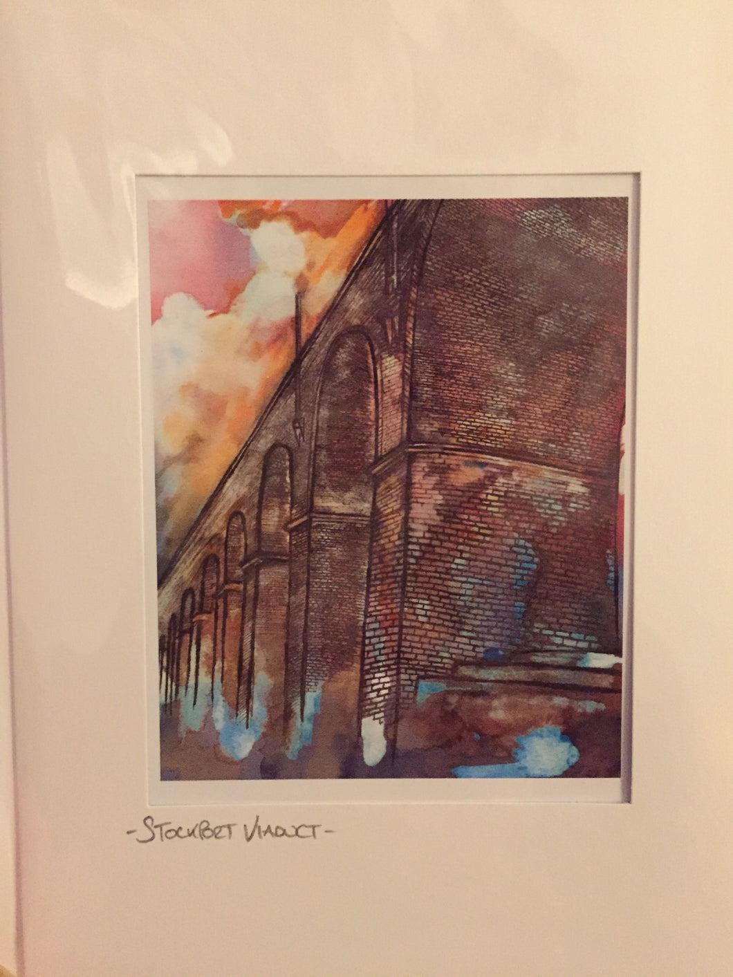 Stockport Viaduct Greetings Card