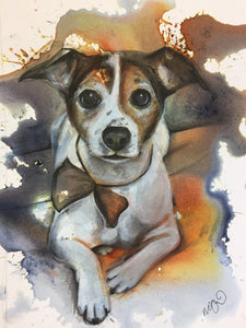 Bespoke Pet Portrait (Click to browse examples of previous commissions)