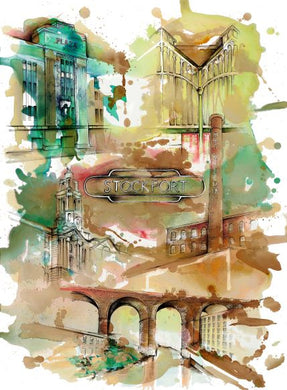 Stockport Art Print