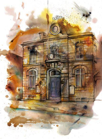 Mechanics Institute, Whaley Bridge Original Artwork
