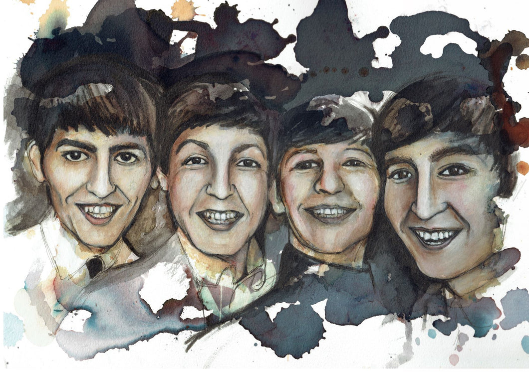 The Beatles, Art Print