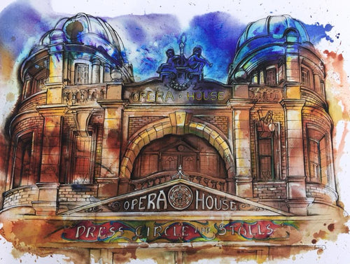 Buxton Opera House Original Artwork
