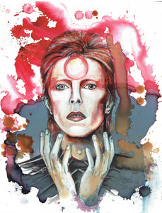 David Bowie, Art Print