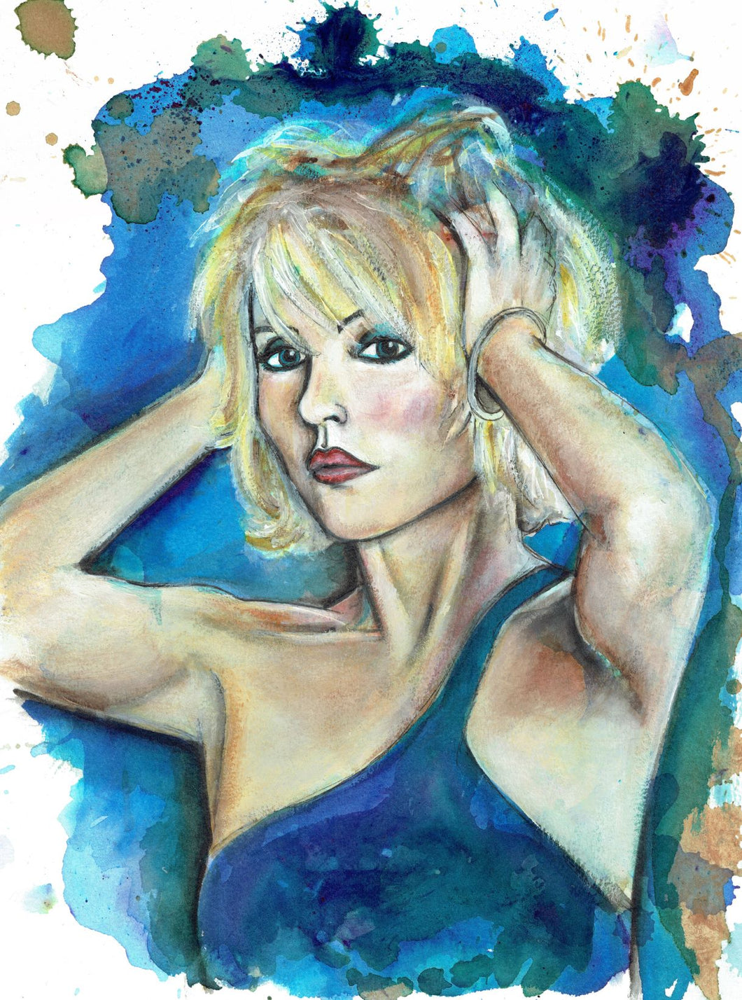 Debbie Harry, Art Print