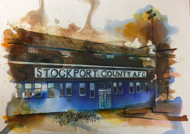 Edgeley Park- Art Print