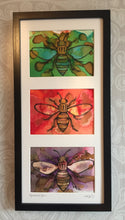 Manchester Bee Triptych