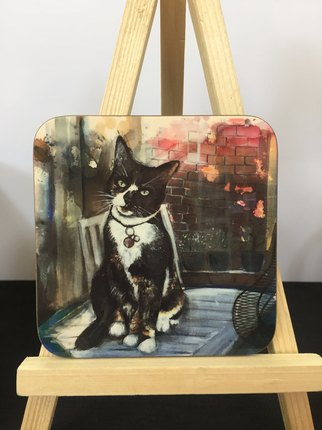Tortoishell Cat Coaster
