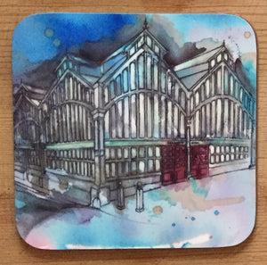Stockport Market Hall Coaster