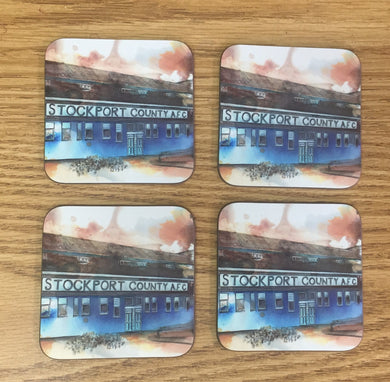 Set of 4 Edgeley Park Coasters