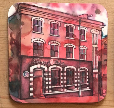 Strawberry Studios Coaster