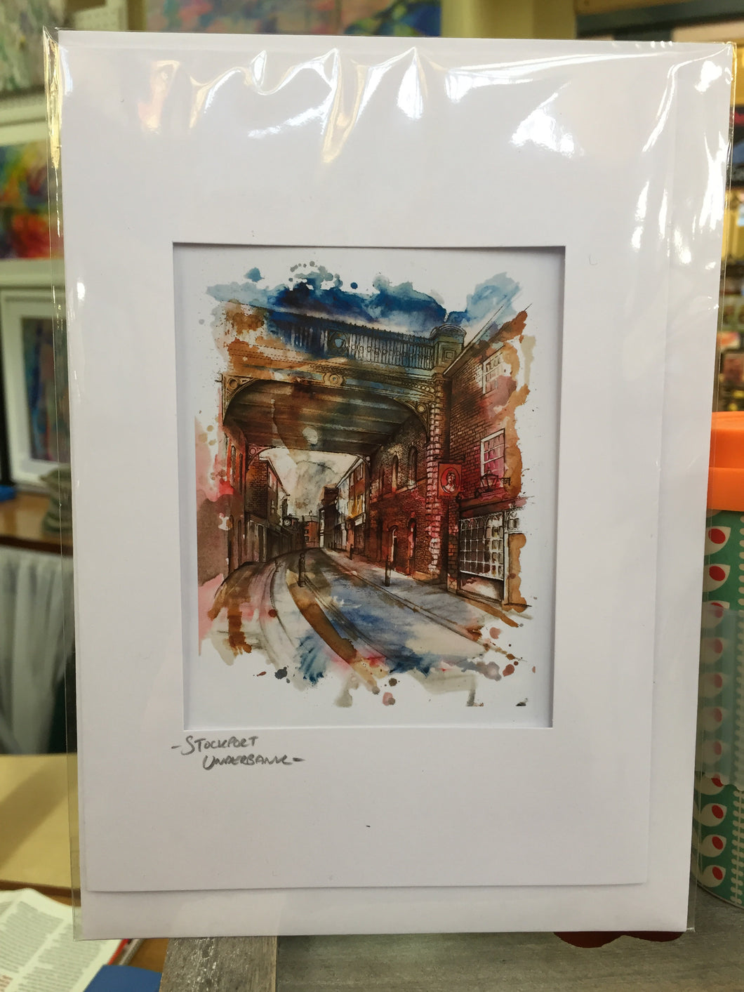 Stockport Underbank Greetings Card