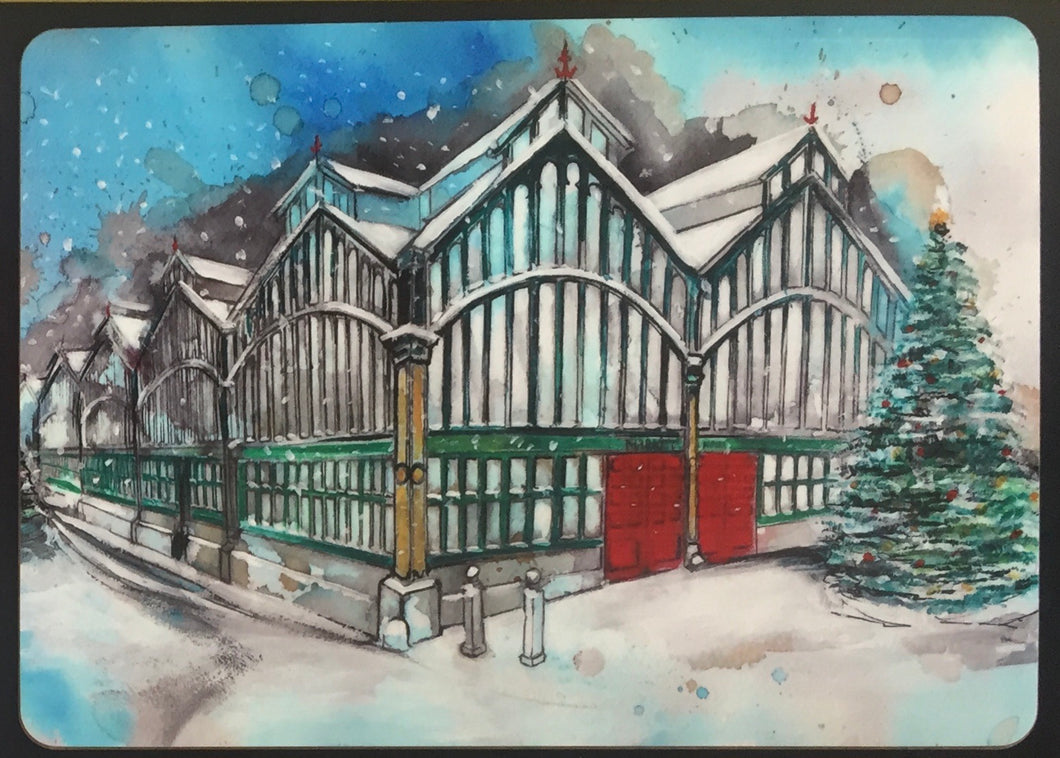 Stockport Market Hall Christmas Placemat
