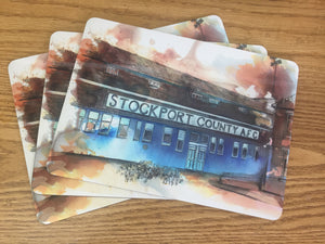 Set of 4 Edgeley Park large placemats