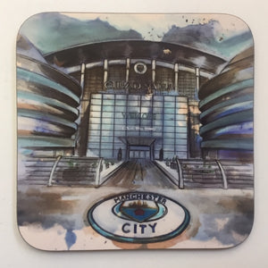 Manchester City Ethiad Coaster