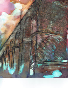 Stockport Viaduct Art Print