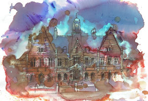 Victoria Baths, Manchester Original Artwork