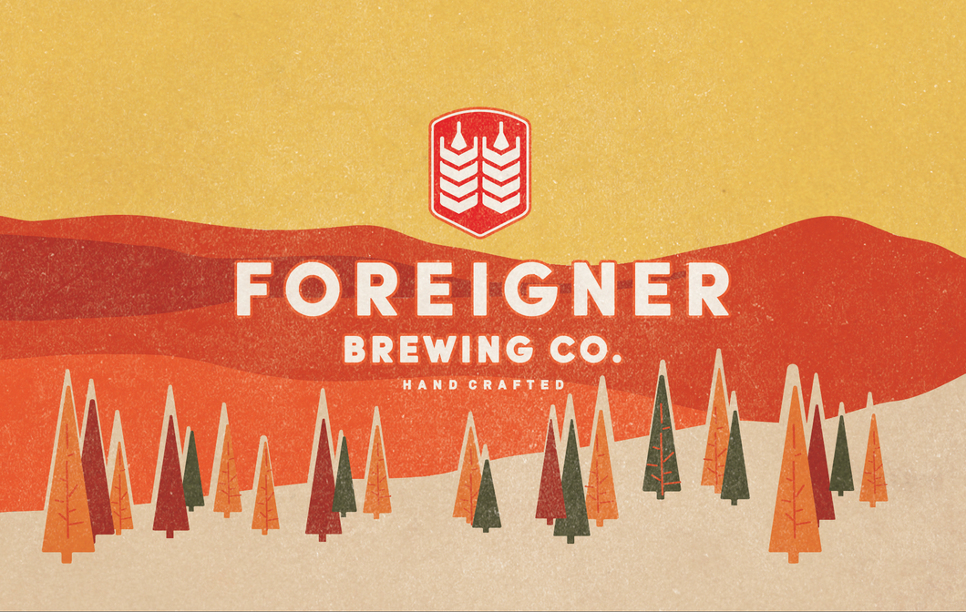 Foreigner Brewing $40 Gift Card