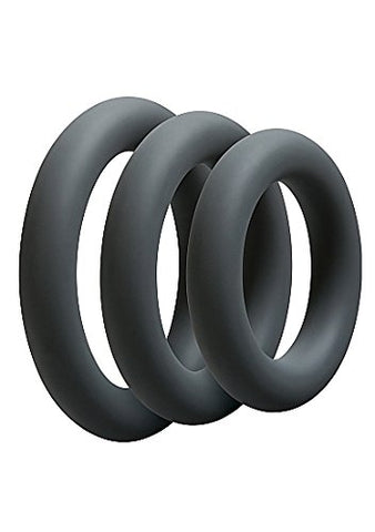 OptiMale Cock Ring Kit, Thick
