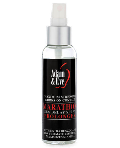 Adam & Eve Marathon Sex Delay Spray Maximum Strength, 2 oz