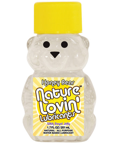 Nature Lovin' Honey Bear Water Based Lubricant, 1.7 oz