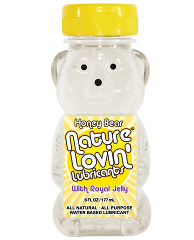Nature Lovin' Honey Bear Water Based Lubricant, 6 oz