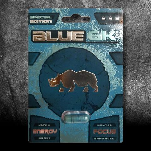 Blue 6K Male Enhancement Dietary Supplement, 1 pill