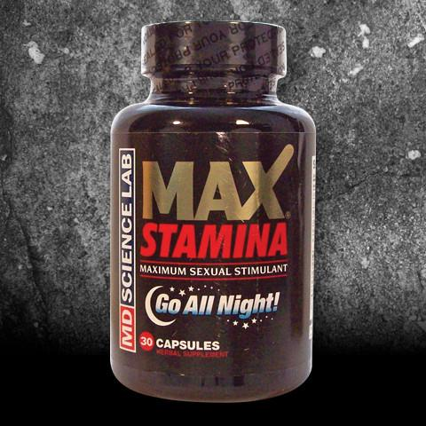 Max Stamina Male Enhancement Dietary Supplement, 30-count bottle