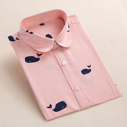Whale Shirt Pink