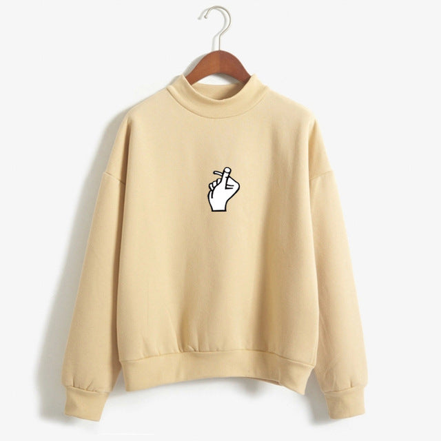 Snap Sweatshirt