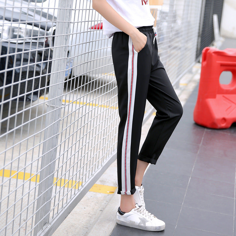 Sally Striped Casual Pants