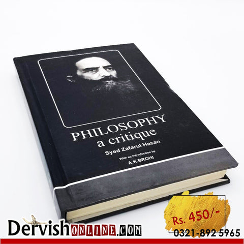 PHILOSOPHY - A Critique | Dr. Syed Zafarul Hasan - Dervish Designs Online