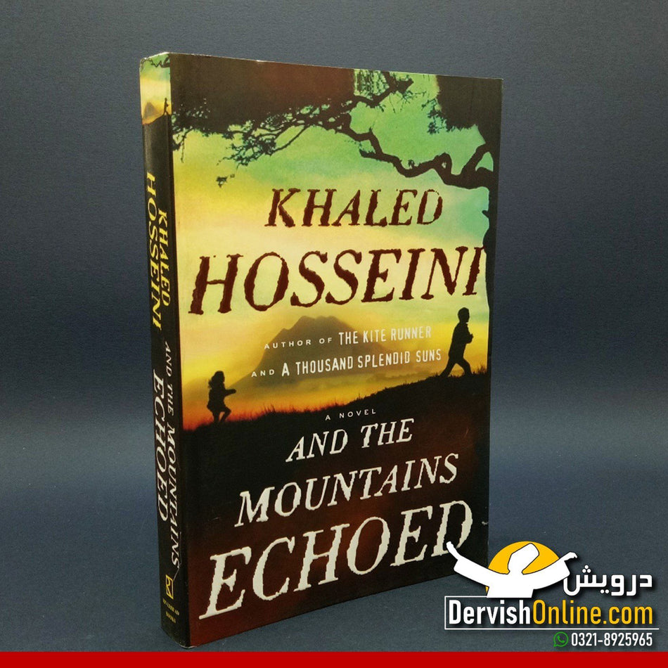 And The Mountains Echoed - Khaled Hosseini - Dervish Designs Online
