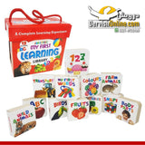 My First Learning Library 12 In 1 (Board Books) Books Dervish Kids