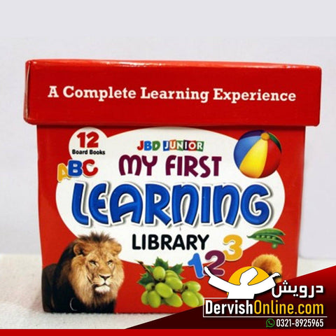 My First Learning Library 12 In 1 (Board Books) - Dervish Designs Online
