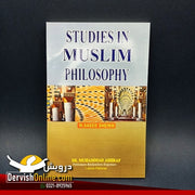 Studies In Muslim Philosophy By Prof. Saeed Shaikh