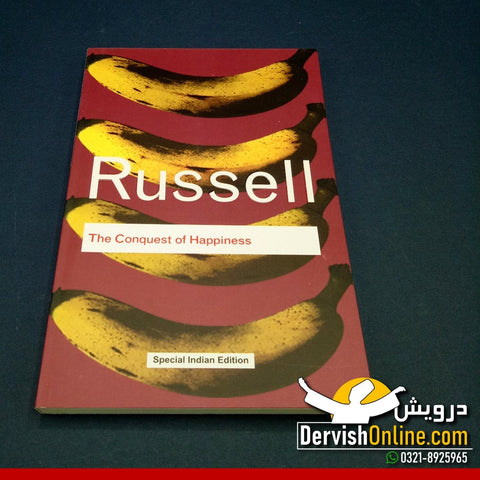 The Conquest of Happiness - Bertrand Russell Books Dervish Designs