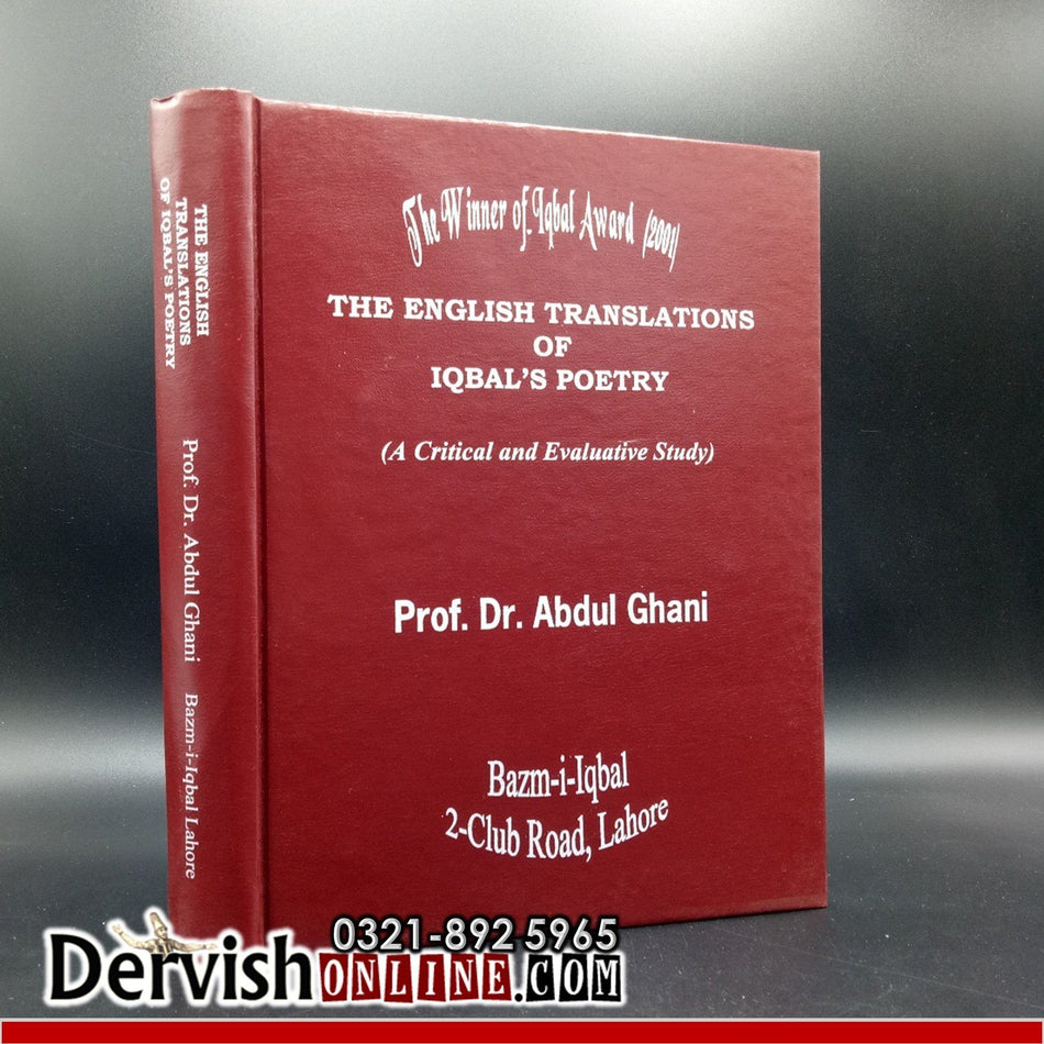 The English Translations of Iqbal's Poetry (A Critical and Evaluative Study) Books Dervish Designs