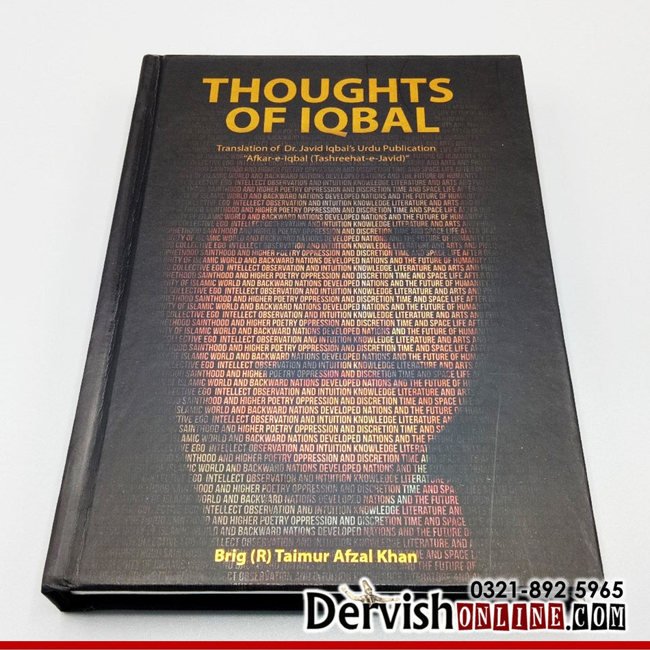 "Thoughts of Iqbal: Translation of Dr. Javid Iqbal's Urdu Publication ""Afkar-e-Iqbal"" Books Dervish Designs"