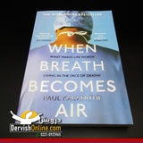 When Breath Becomes Air | Paul Kalanithi Books DervishDesigns