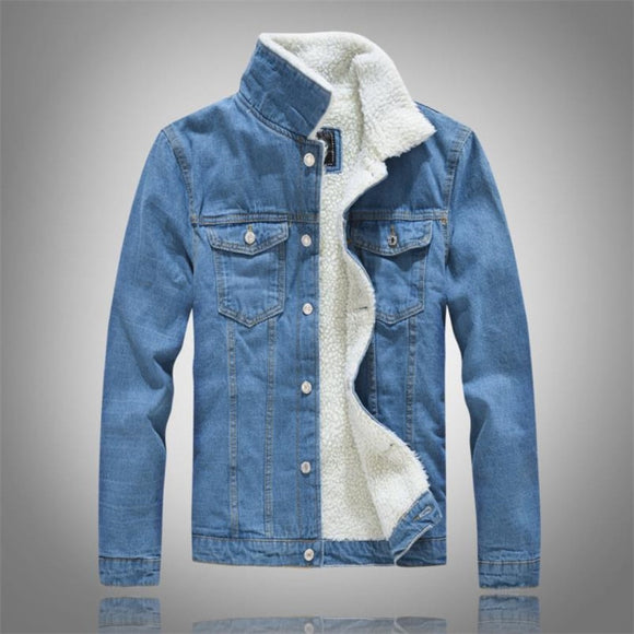 Casual Denim Cotton Coat