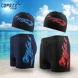 Swim/ Boarding Boxers with Cap