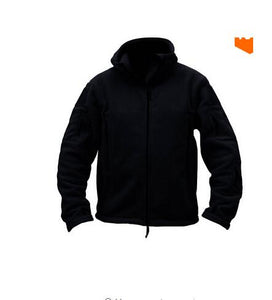 Military-style Polar Fleece Jacket