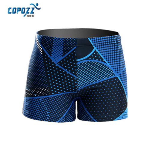 Breathable Men's Boxer Swim/Diving Trunks