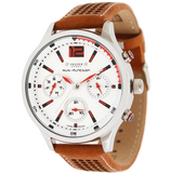 Julius Quartz Leather band Business Wristwatch