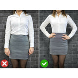 Adjustable Shirt/ Blouse Non-Slip Wrinkle-Proof Locking Belt