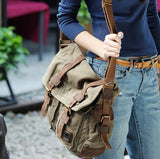 Vintage Crossbody Messenger Shoulder Bag